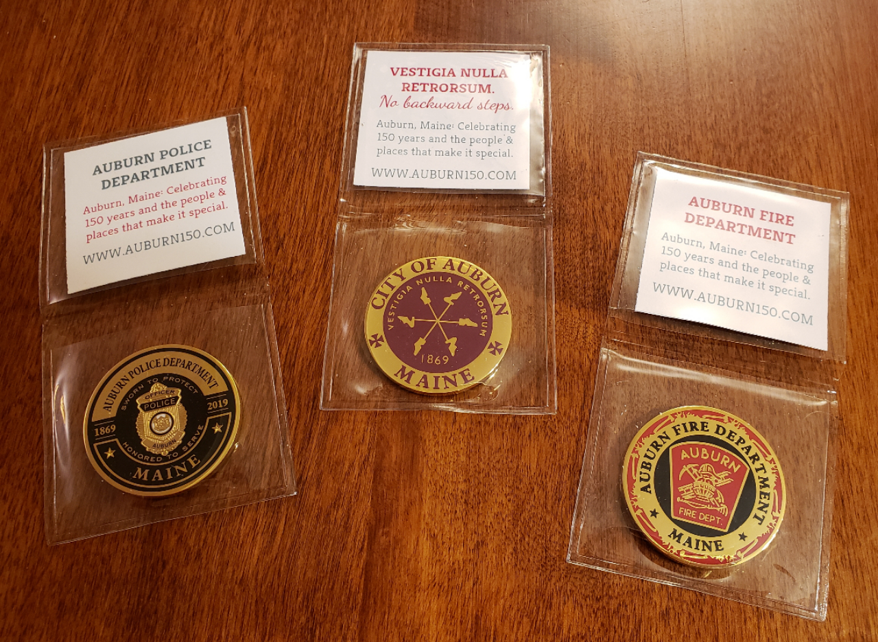 Commemorative Coins Available!