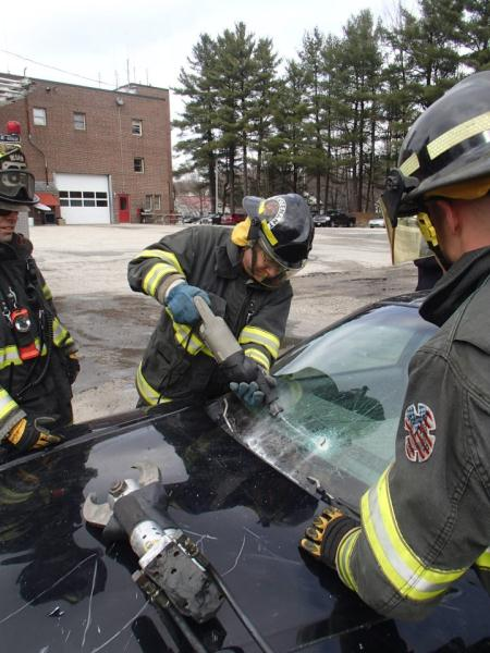 CFA extrication training