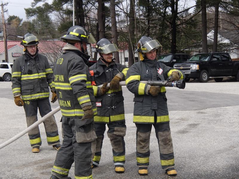 CFA hose training