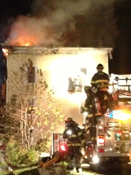 Structure Fire 10-17-12