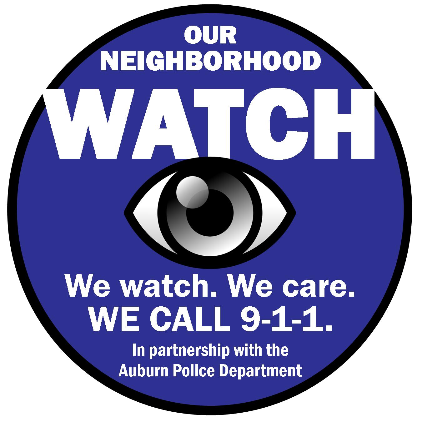 New Auburn Neighborhood Watch