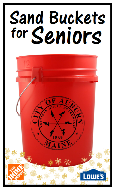 Sand Buckets for Seniors
