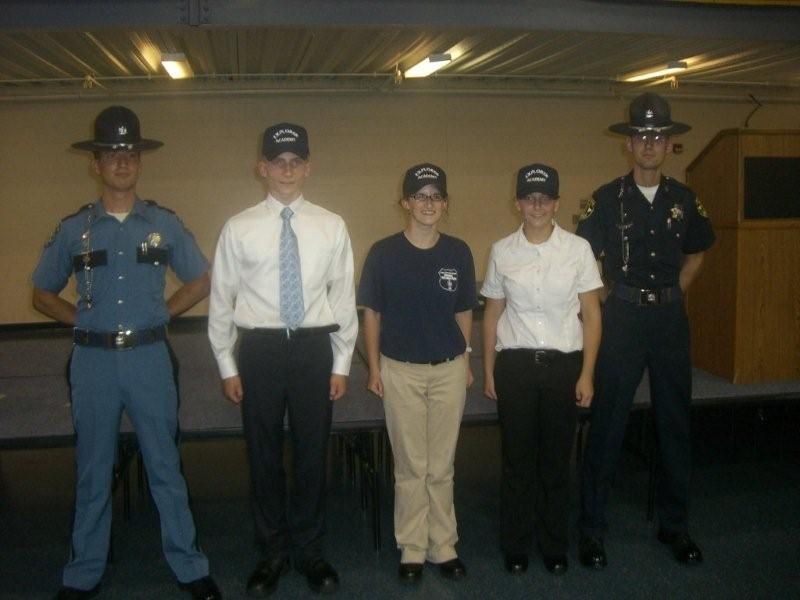 APD Cadets Graduate from Explorer Academy