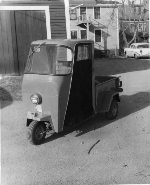 Cushman parking enforcement vehicle