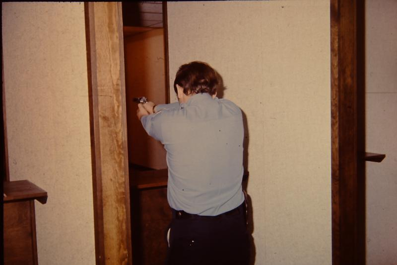 Indoor firing range at One Minot Avenue